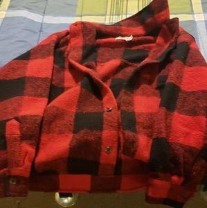 Plaid 3xl Earth Rags lumber Jack style coat